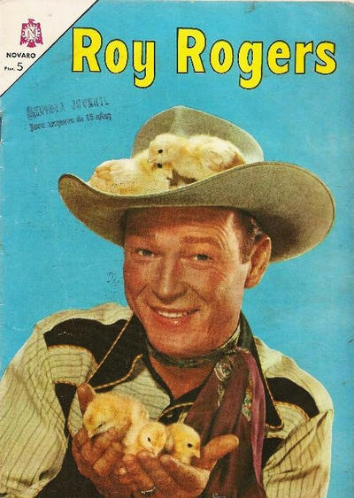 Cover for Roy Rogers (Editorial Novaro, 1952 series) #162