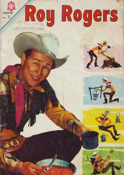 Cover for Roy Rogers (Editorial Novaro, 1952 series) #158