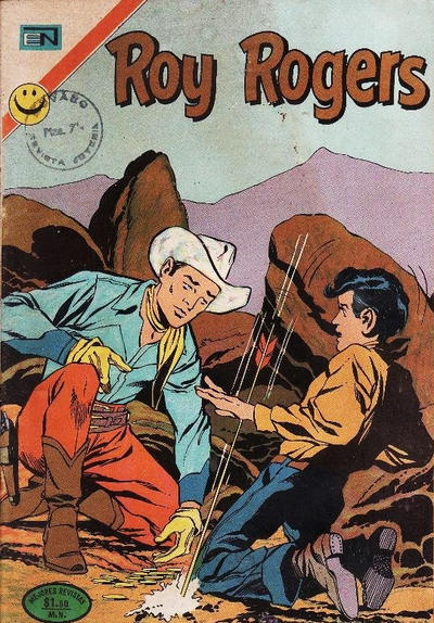 Cover for Roy Rogers (Editorial Novaro, 1952 series) #281