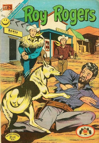 Cover for Roy Rogers (Editorial Novaro, 1952 series) #271