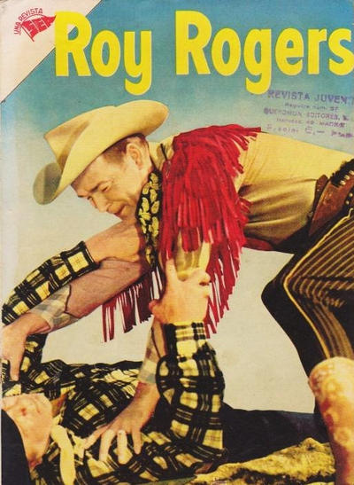 Cover for Roy Rogers (Editorial Novaro, 1952 series) #34