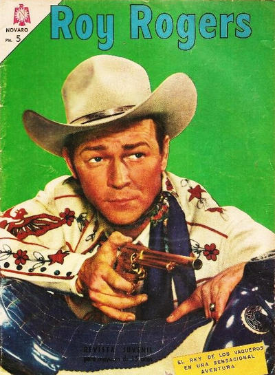 Cover for Roy Rogers (Editorial Novaro, 1952 series) #167