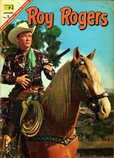 Cover for Roy Rogers (Editorial Novaro, 1952 series) #180