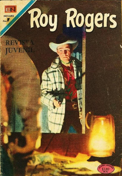Cover for Roy Rogers (Editorial Novaro, 1952 series) #214