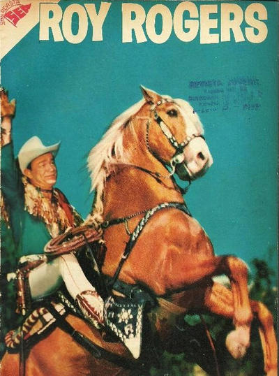 Cover for Roy Rogers (Editorial Novaro, 1952 series) #60