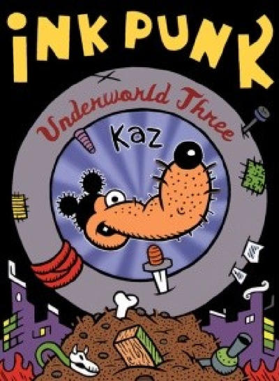 Cover for Underworld (Fantagraphics, 1995 series) #3 - Ink Punk