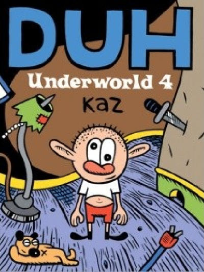 Cover for Underworld (Fantagraphics, 1995 series) #4 - Duh
