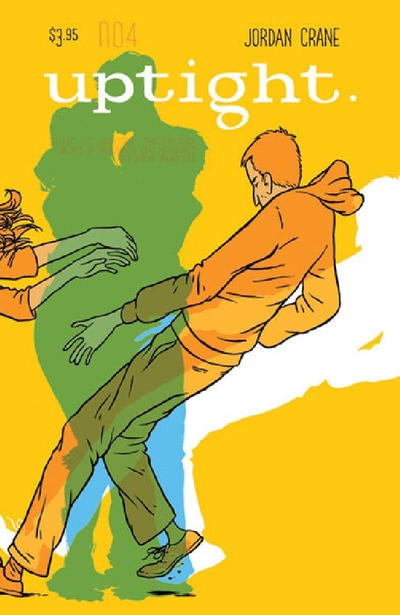 Cover for Uptight (Fantagraphics, 2006 series) #4