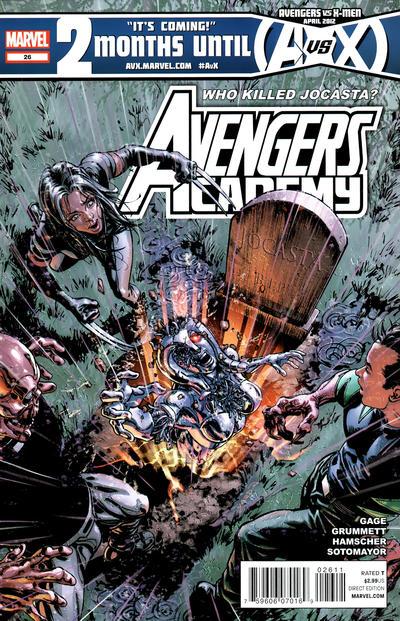 Cover for Avengers Academy (Marvel, 2010 series) #26