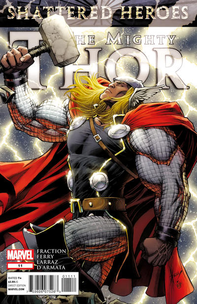 Cover for The Mighty Thor (Marvel, 2011 series) #11