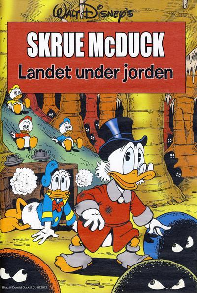 Cover for Bilag til Donald Duck & Co (Hjemmet / Egmont, 1997 series) #7/2012