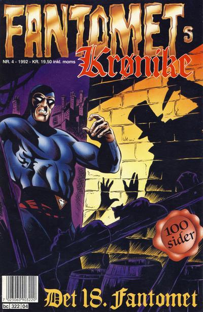 Cover for Fantomets krønike (Semic, 1989 series) #4/1992