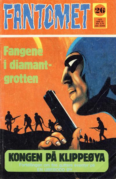 Cover for Fantomet (Romanforlaget, 1966 series) #26/1972