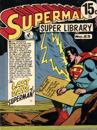 Cover for Superman Super Library (K. G. Murray, 1964 series) #23