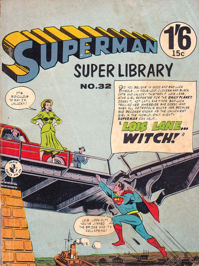 Cover for Superman Super Library (K. G. Murray, 1964 series) #32