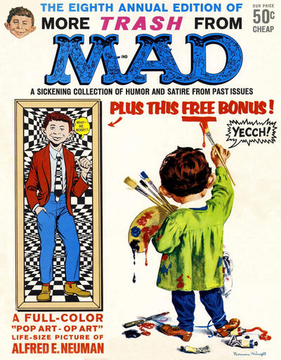Cover for More Trash from MAD (EC, 1958 series) #8