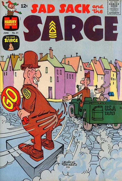 Cover for Sad Sack and the Sarge (Harvey, 1957 series) #31