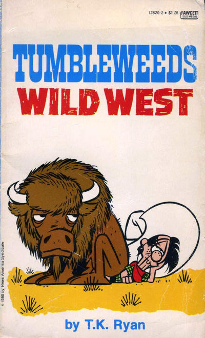 Cover for Tumbleweeds Wild West (Gold Medal Books, 1986 series) #12820-2