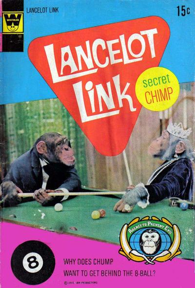 Cover for Lancelot Link, Secret Chimp (Western, 1971 series) #5 [Whitman]