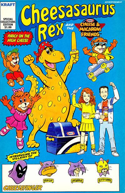 Cover for Cheesasaurus Rex (Acclaim / Valiant, 1991 ? series) #[nn]