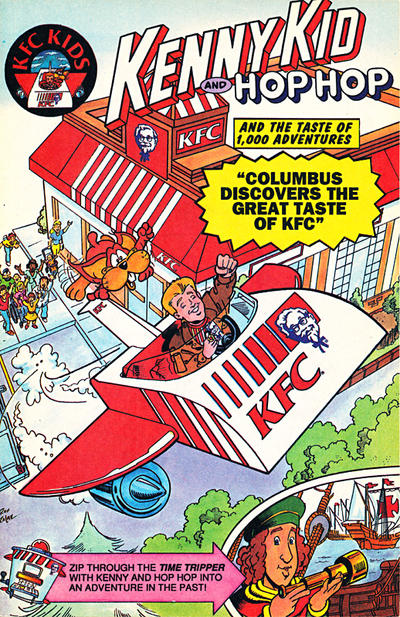 Cover for Kenny Kid and Hop Hop (Acclaim / Valiant, 1992 series) #[nn]