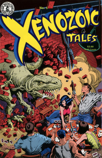 Cover for Xenozoic Tales (Kitchen Sink Press, 1987 series) #1