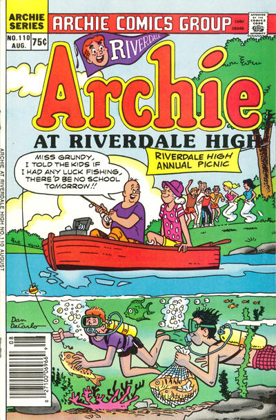 Cover for Archie at Riverdale High (Archie, 1972 series) #110
