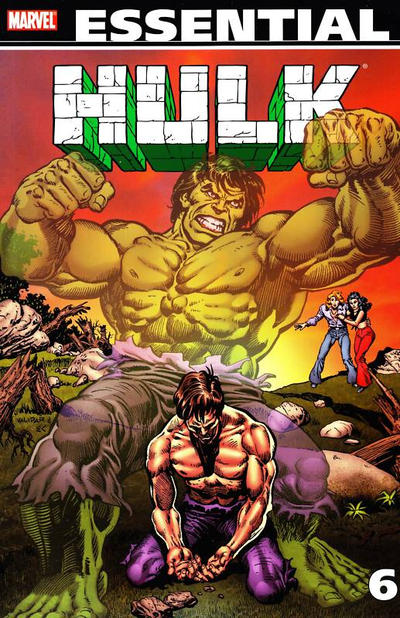Cover for Essential Hulk (Marvel, 1999 series) #6