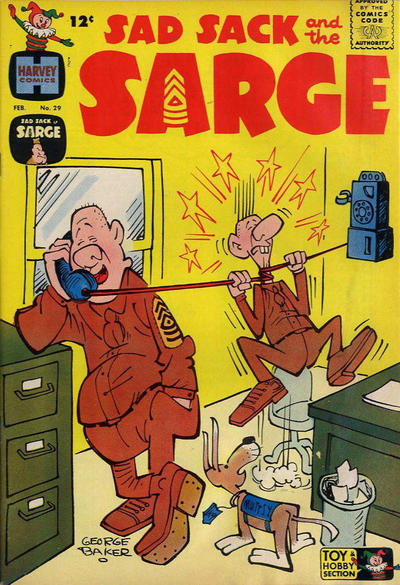 Cover for Sad Sack and the Sarge (Harvey, 1957 series) #29