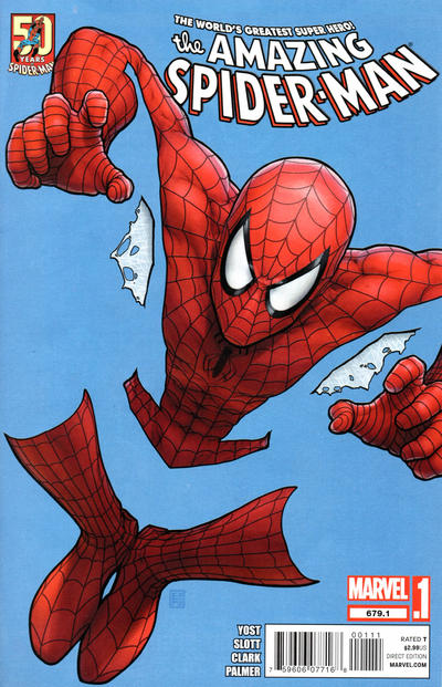 Cover for The Amazing Spider-Man (Marvel, 1999 series) #679.1