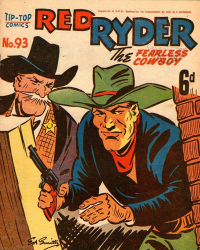 Cover for Red Ryder (Southdown Press, 1944 ? series) #93
