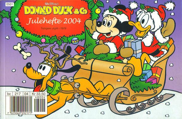 Cover for Donald Duck & Co julehefte (Hjemmet / Egmont, 1968 series) #2004