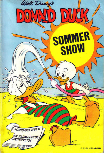 Cover for Donald Duck's Show (Hjemmet, 1957 series) #[14] - Sommershow 1969