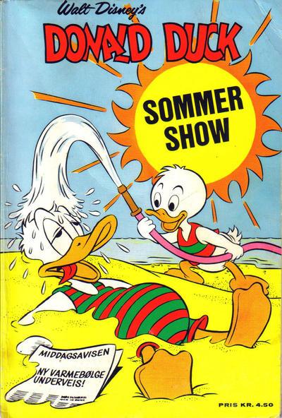Cover for Donald Ducks Show (Hjemmet / Egmont, 1957 series) #[14] - Sommershow 1969
