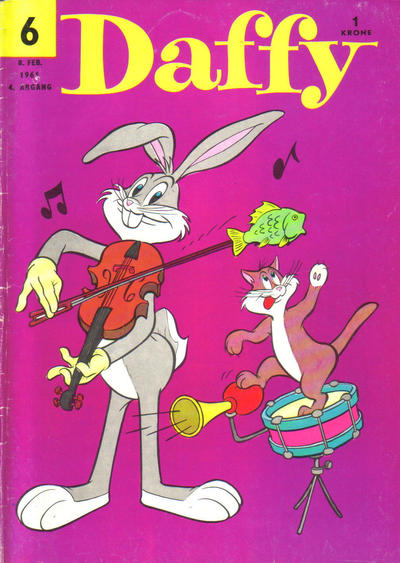 Cover for Daffy (Allers Forlag, 1959 series) #6/1961
