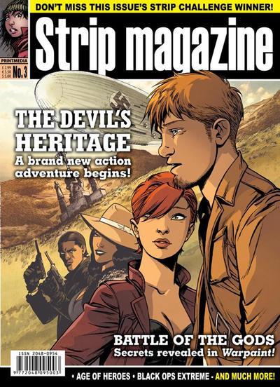 Cover for Strip Magazine (Print Media, 2011 series) #3