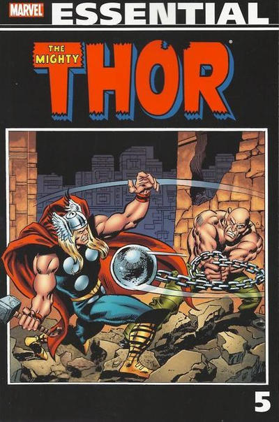 Cover for Essential Thor (Marvel, 2001 series) #5