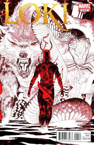 Cover for Loki (Marvel, 2010 series) #4