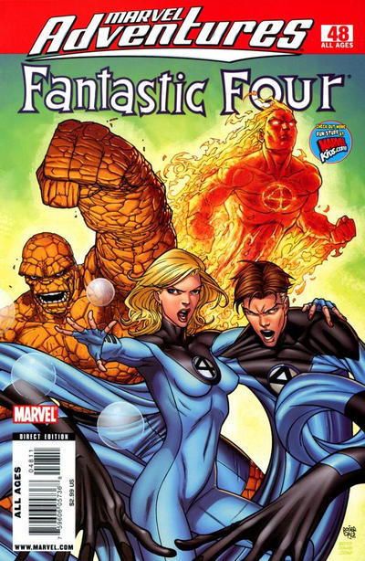 Cover for Marvel Adventures Fantastic Four (Marvel, 2005 series) #48