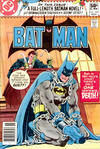 Cover for Batman (DC, 1940 series) #329 [Newsstand]