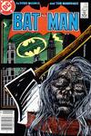 Cover for Batman (DC, 1940 series) #399 [Newsstand]