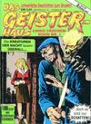Cover for Das Geisterhaus Comic-Taschenbuch (Condor, 1990 series) #1