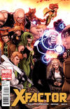 Cover Thumbnail for X-Factor (2006 series) #230 [Nick Bradshaw Regenesis Gold Variant Cover]