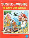 Cover for Suske en Wiske (Standaard Uitgeverij, 1967 series) #111 - De schat van Beersel [KB reclame-editie]