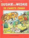Cover for Suske en Wiske (Standaard Uitgeverij, 1967 series) #123 - De zwarte zwaan [Eerste druk 1971]