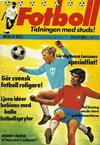 Cover for Fotboll (Williams Förlags AB, 1973 series) #8/1973