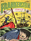 Cover for Frankenstein Comics (Arnold Book Company, 1953 series) #1