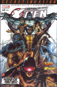 Cover Thumbnail for Astonishing X-Men (Panini France, 2005 series) #49 [Collector Edition]