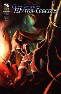 Cover Thumbnail for Grimm Fairy Tales Myths & Legends (Zenescope Entertainment, 2011 series) #13 [Cover B - Romano Molenaar]