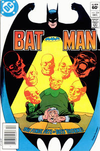 Cover Thumbnail for Batman (DC, 1940 series) #354 [Newsstand]